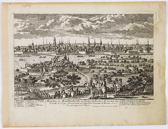 AVELINE, P.A. -  Mastric ou Maëstricht, Ville du Brabant-Hollandois. . .