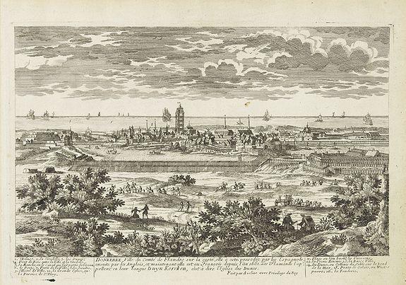 AVELINE, P.A. -  Donkerke, ville du comt� de Flandre sur la cost�. . .