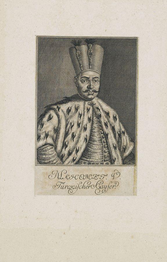 ANONYMOUS -  Mahomet V. Türkischer Kayser.