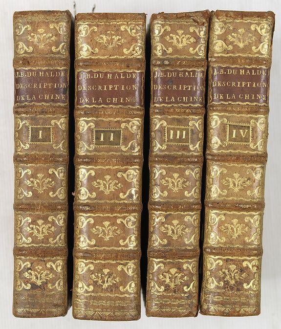 DU HALDE, J.-B. -  Description geographique, historique, chronologique, politique, et physique de l
