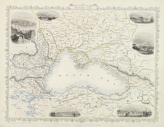 WINKLES, H. / TALIS, J. -  Black sea.