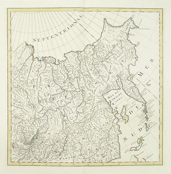 COVENS, J. /  MORTIER, C. -  No title (Carte générale de l'empire de Russie).