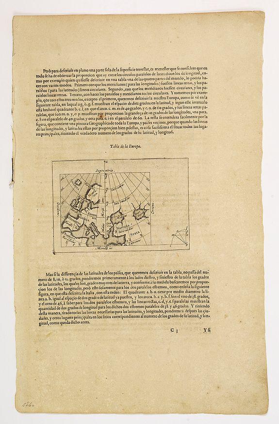MERCATOR, G./ HONDIUS, J. -  [No title] Tabla de la Europa. . . / Italie.