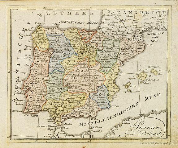 WALCH, J. -  Spanien und Portugal.