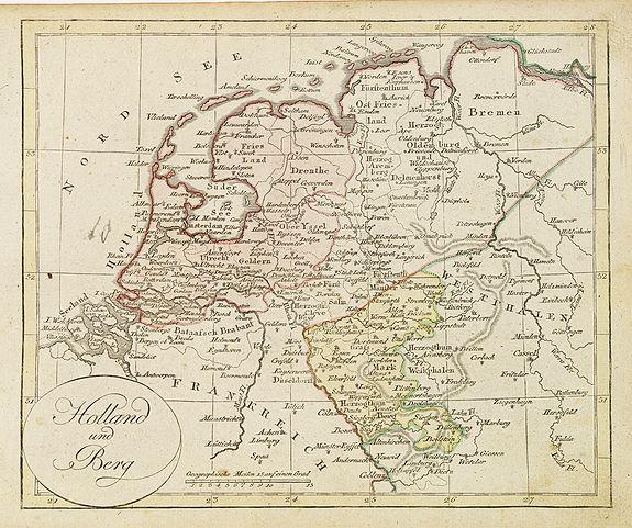 WALCH, J. -  Holland und Berg.