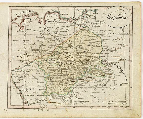 WALCH, J. -  Westphalen.