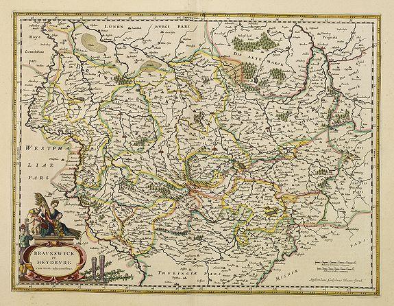 BLAEU, W. -  Bravnswyck et Meydburg. . .