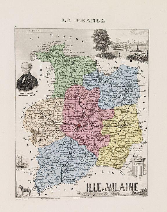 DYONNET Ch. -  Ille et Vilaine