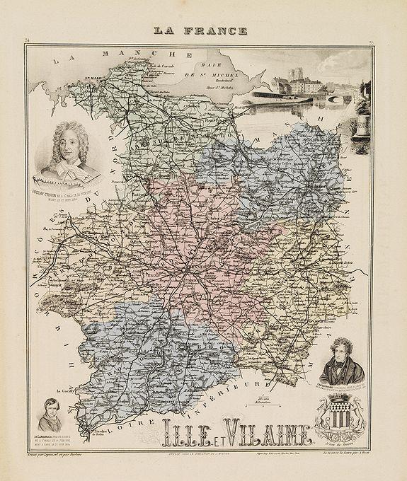 LEGENISEL / BARBIER -  Ille et Vilaine