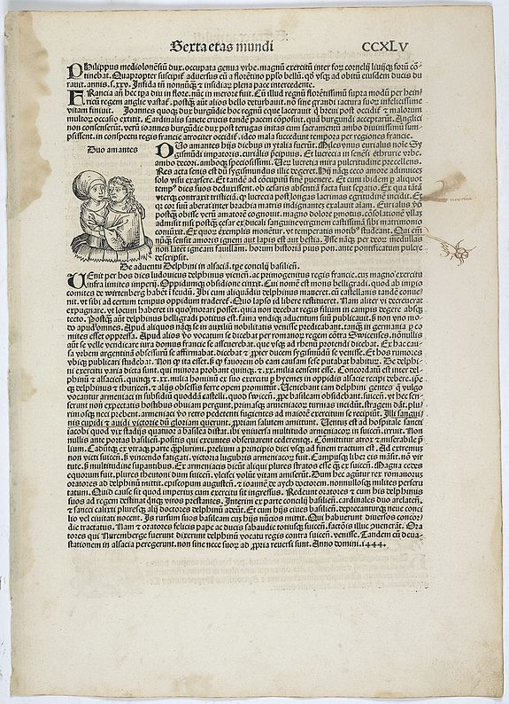 SCHEDEL, H. -  Sexta etas Mundi. Folium. CCXLV