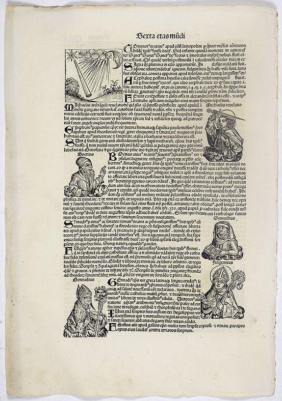 SCHEDEL, H. -  Sexta Etas Mundi. Folium. CXLI.