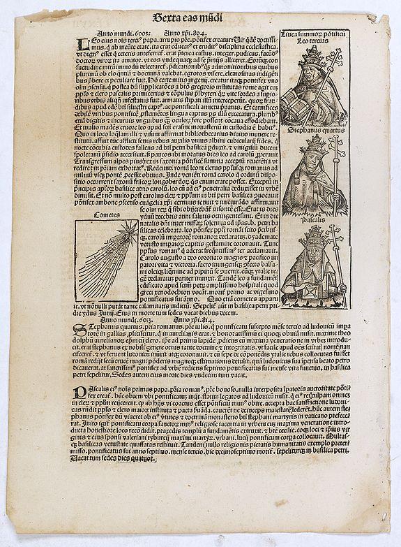 SCHEDEL, H. -  Sexta Etas Mundi. Folium. CLXVII.