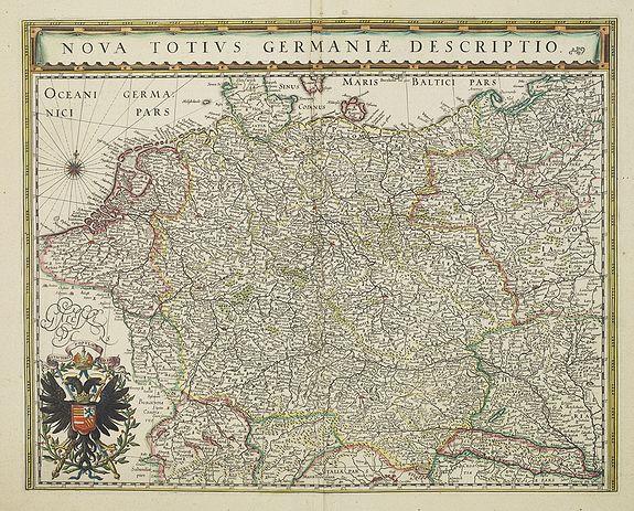 BLAEU,W. -  Nova Totius Germaniae Descriptio.