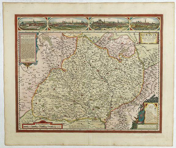 VISSCHER, N. -  Moraviae Nova et post omnes priores accuratissima delineatio.