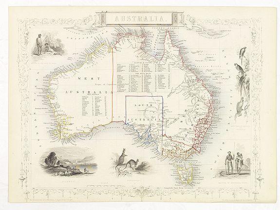 TALLIS, J. -  Australia.