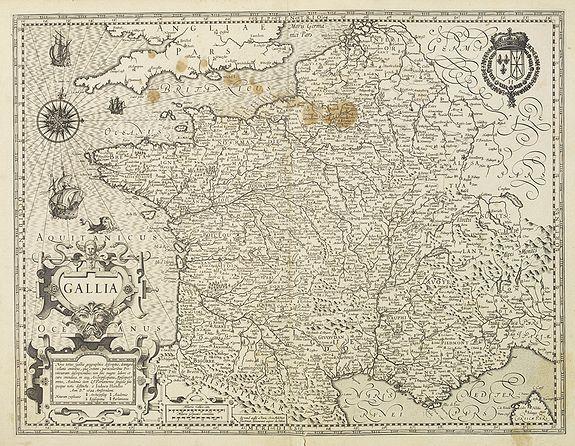 MERCATOR,G./ HONDIUS,J. -  Gallia.