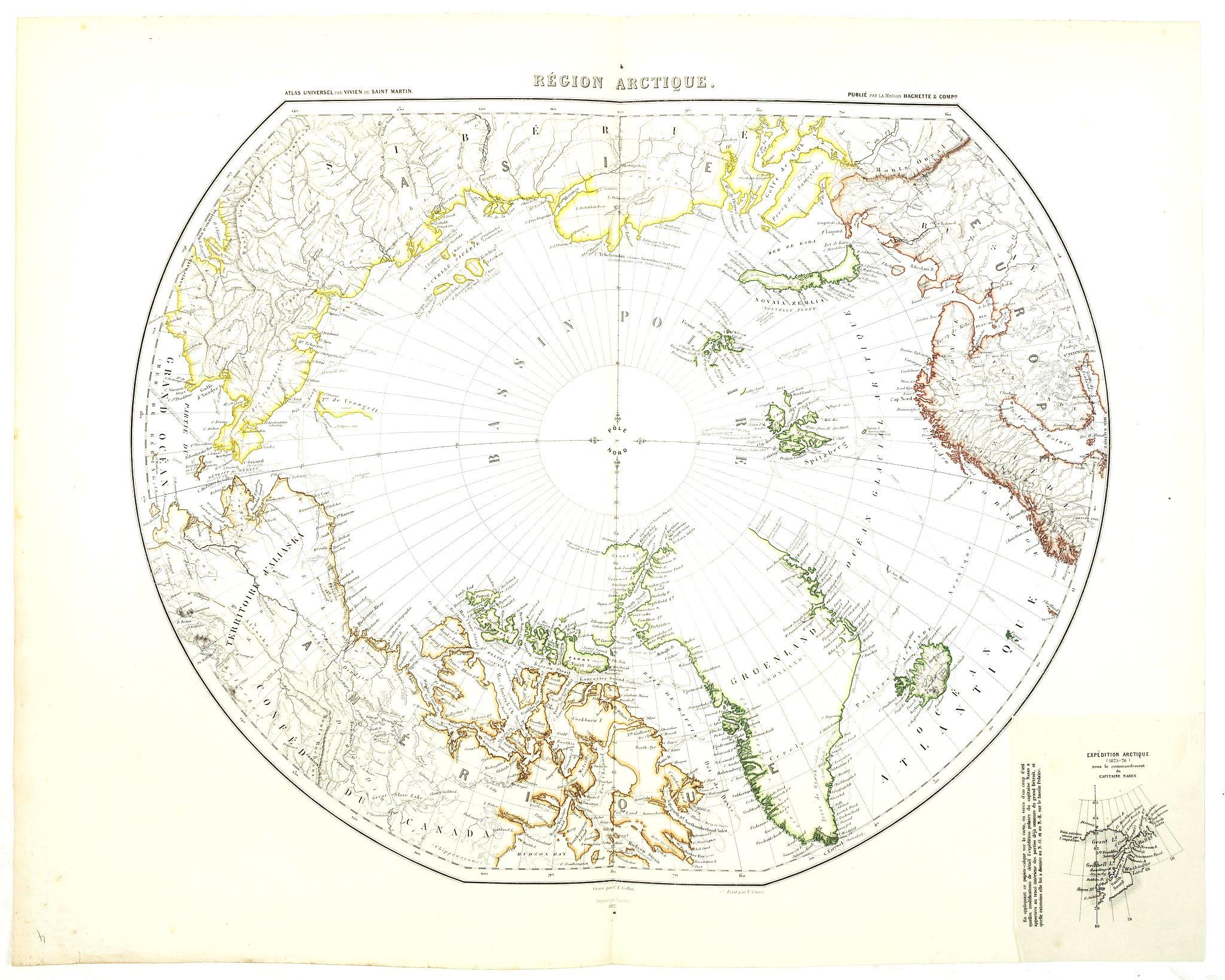 VIVIEN DE SAINT MARTIN. -  Région arctique.