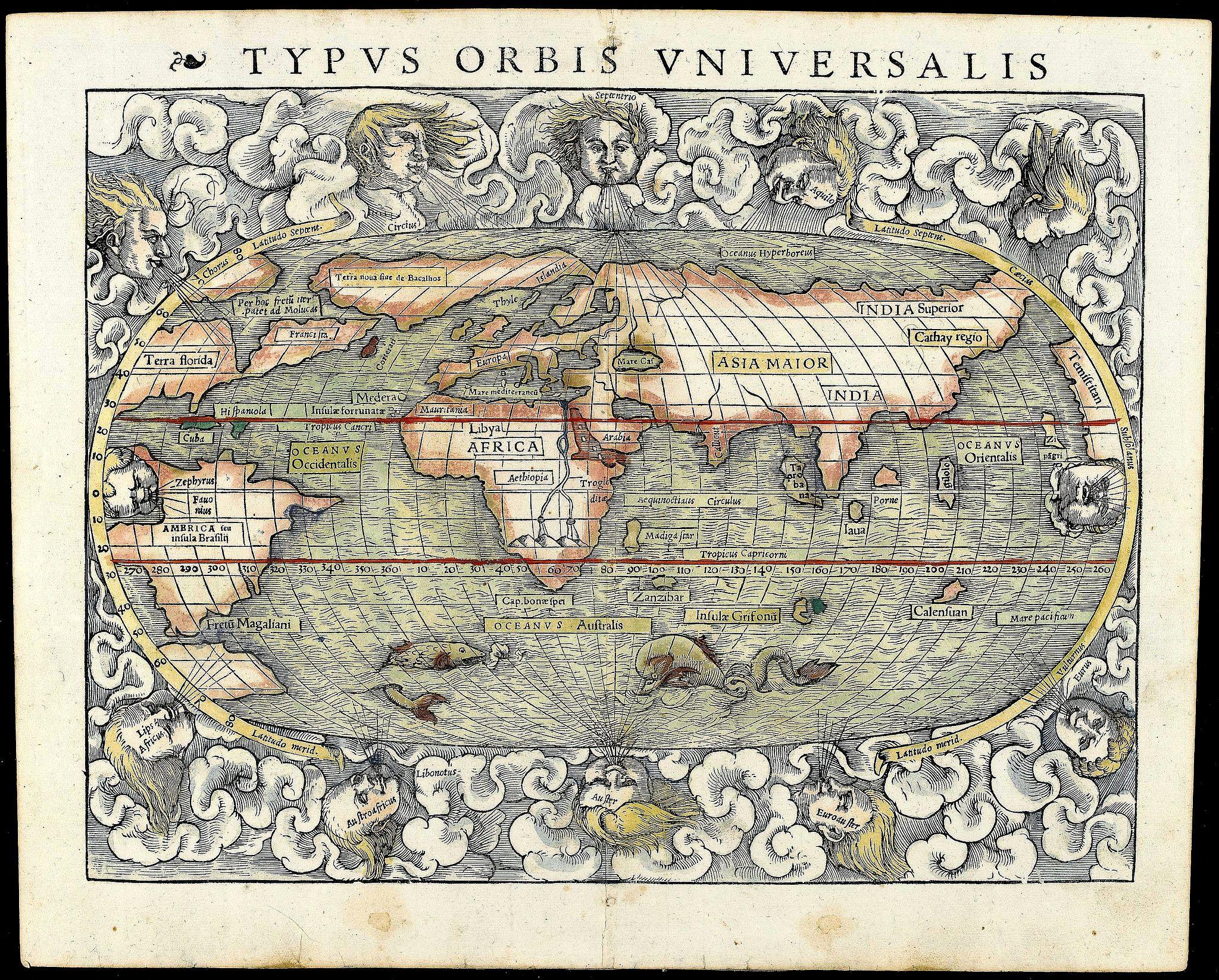 M�NSTER, S. - Typus Orbis Universalis.