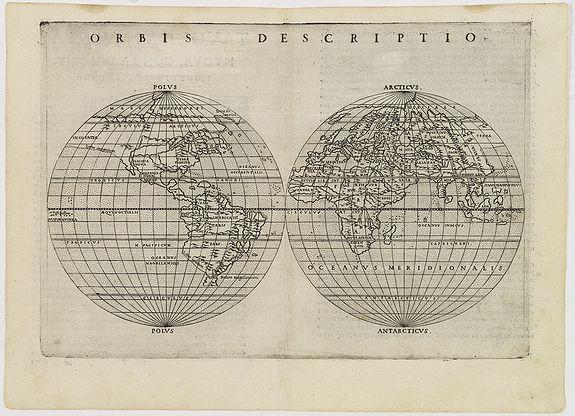 RUSCELLI, G. -  Orbis descriptio.