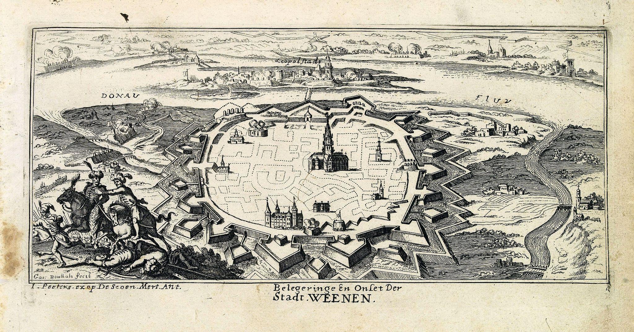 PEETERS, J. / BOUTTATS, G. -  Belegeringe en onset der Stadt Weenen.