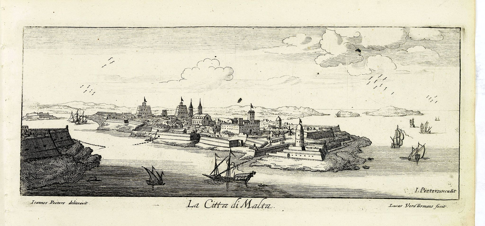 PEETERS, J. / VOSTERMANS II, L. -  La Citta di Malta.