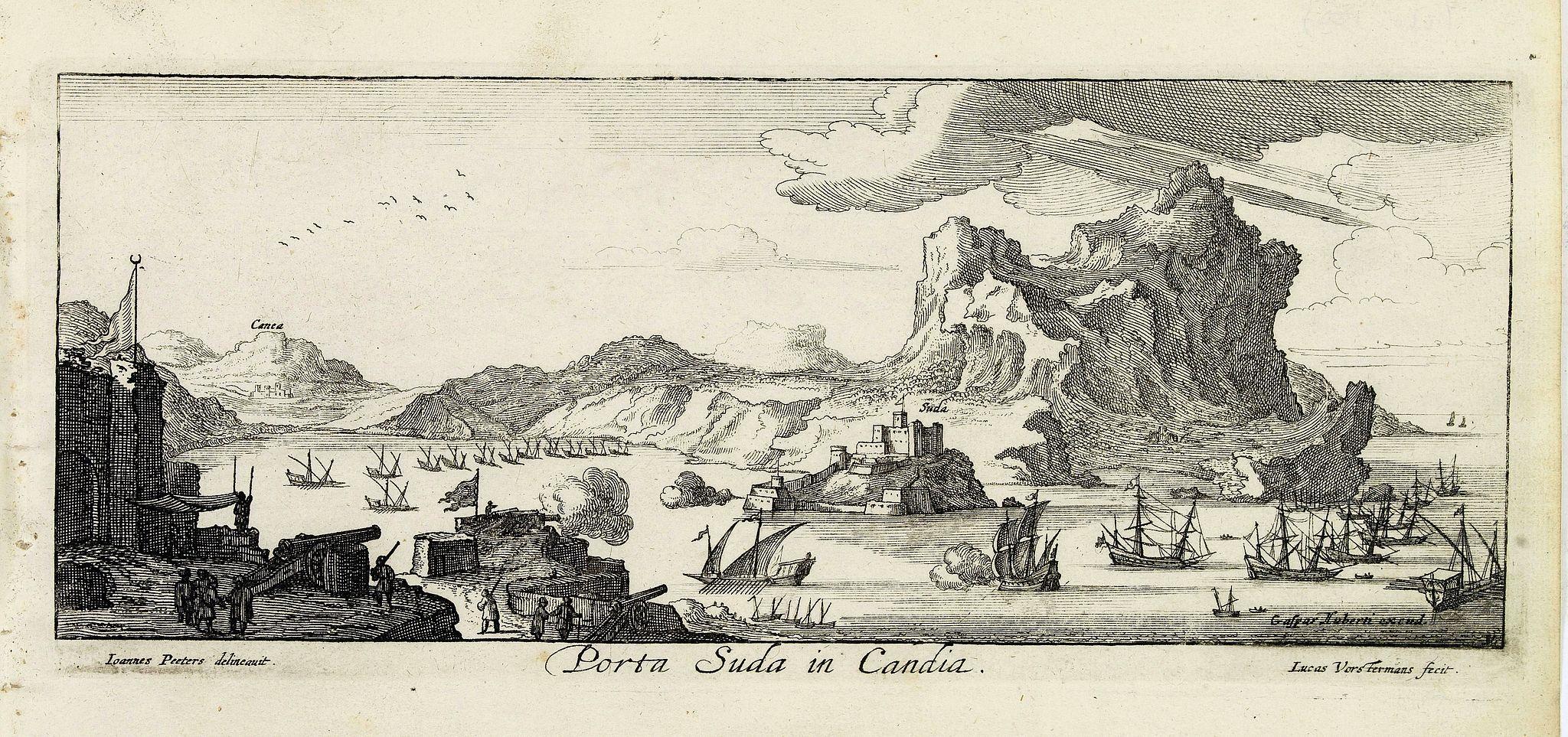PEETERS, J. / VOSTERMANS II, L. -  Porta Suda Paleo in Candia. (Souda)