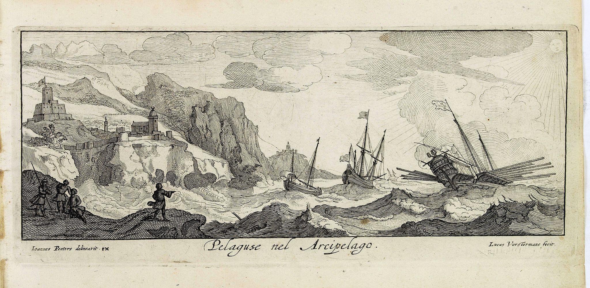 PEETERS, J. / VOSTERMANS II, L. -  Pelaguse nel Arcipelago. (Pegalos)