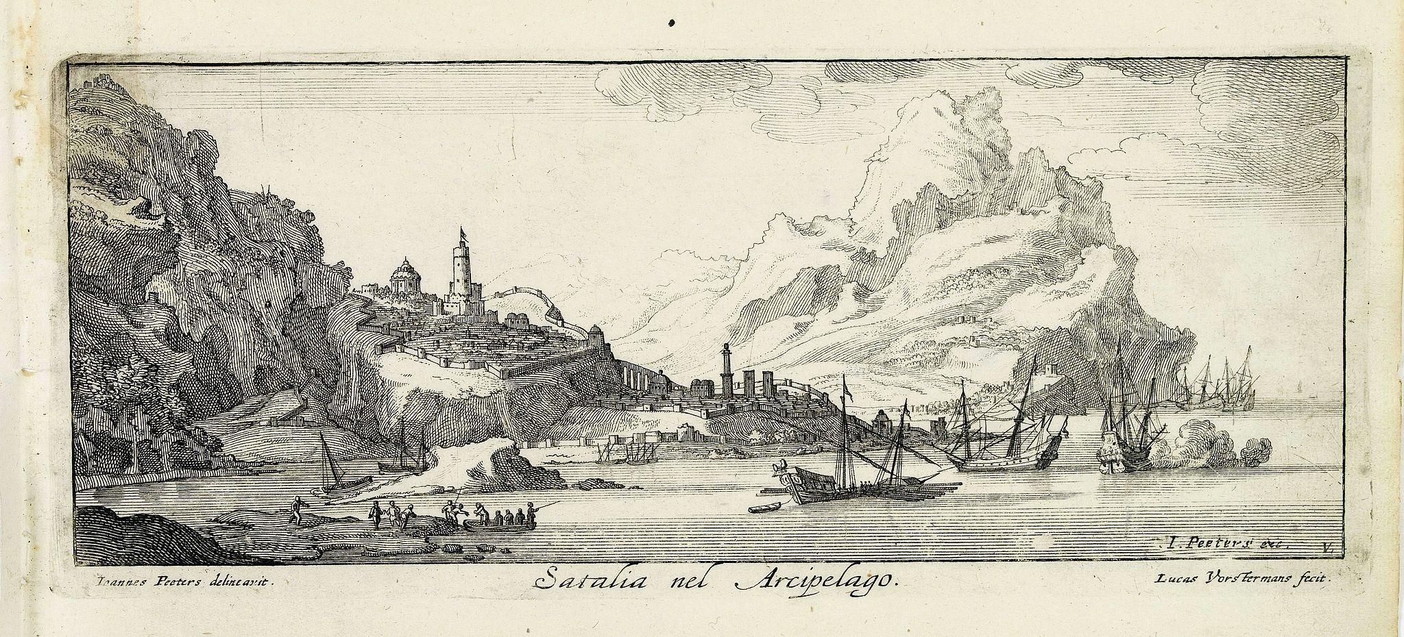 PEETERS, J. / VOSTERMANS II, L. -  Satalia nel arcipelago. (Antalya)