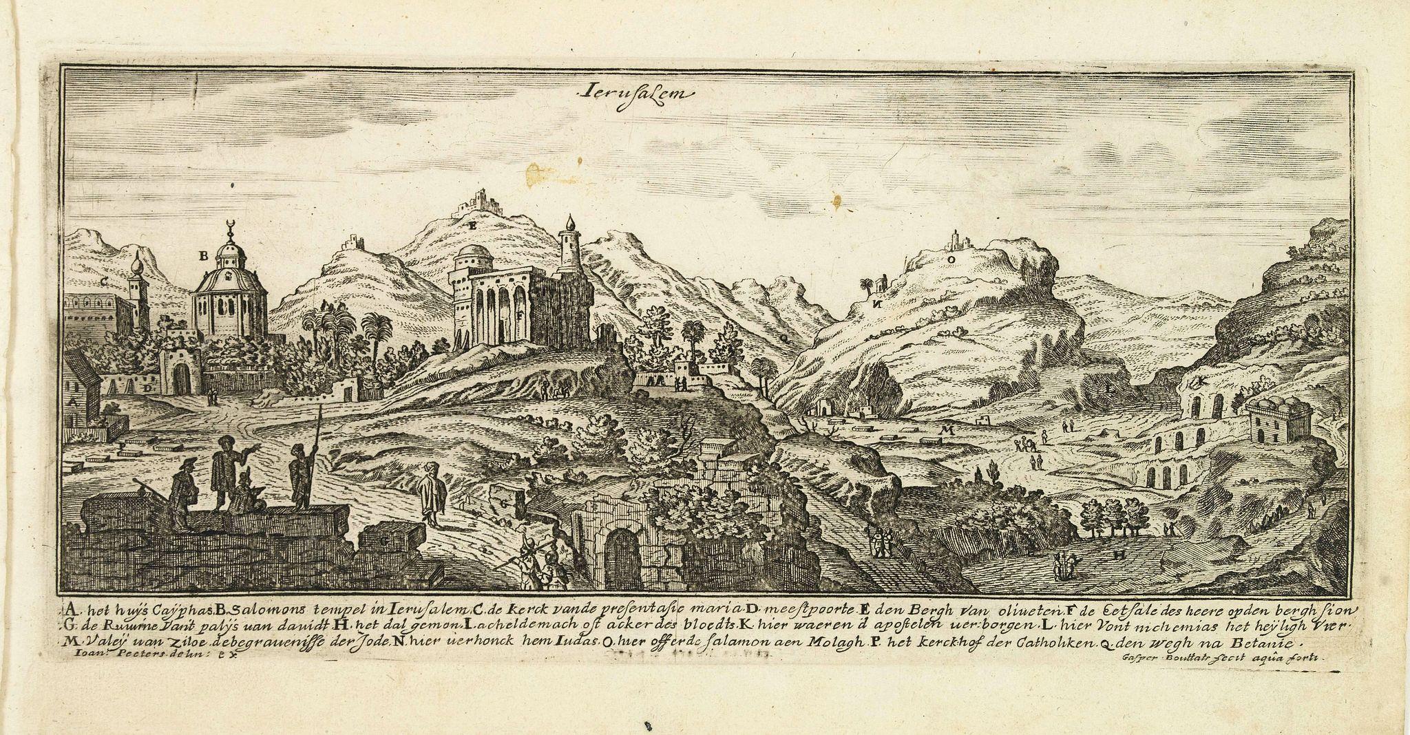PEETERS, J. / BOUTTATS, G. -  Jerusalem.