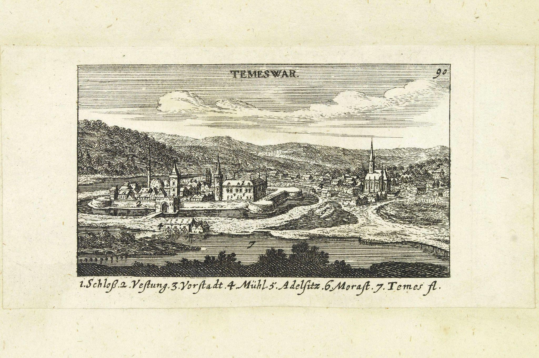 VON BIRKEN, S. -  Temeswar. (Timisoara)
