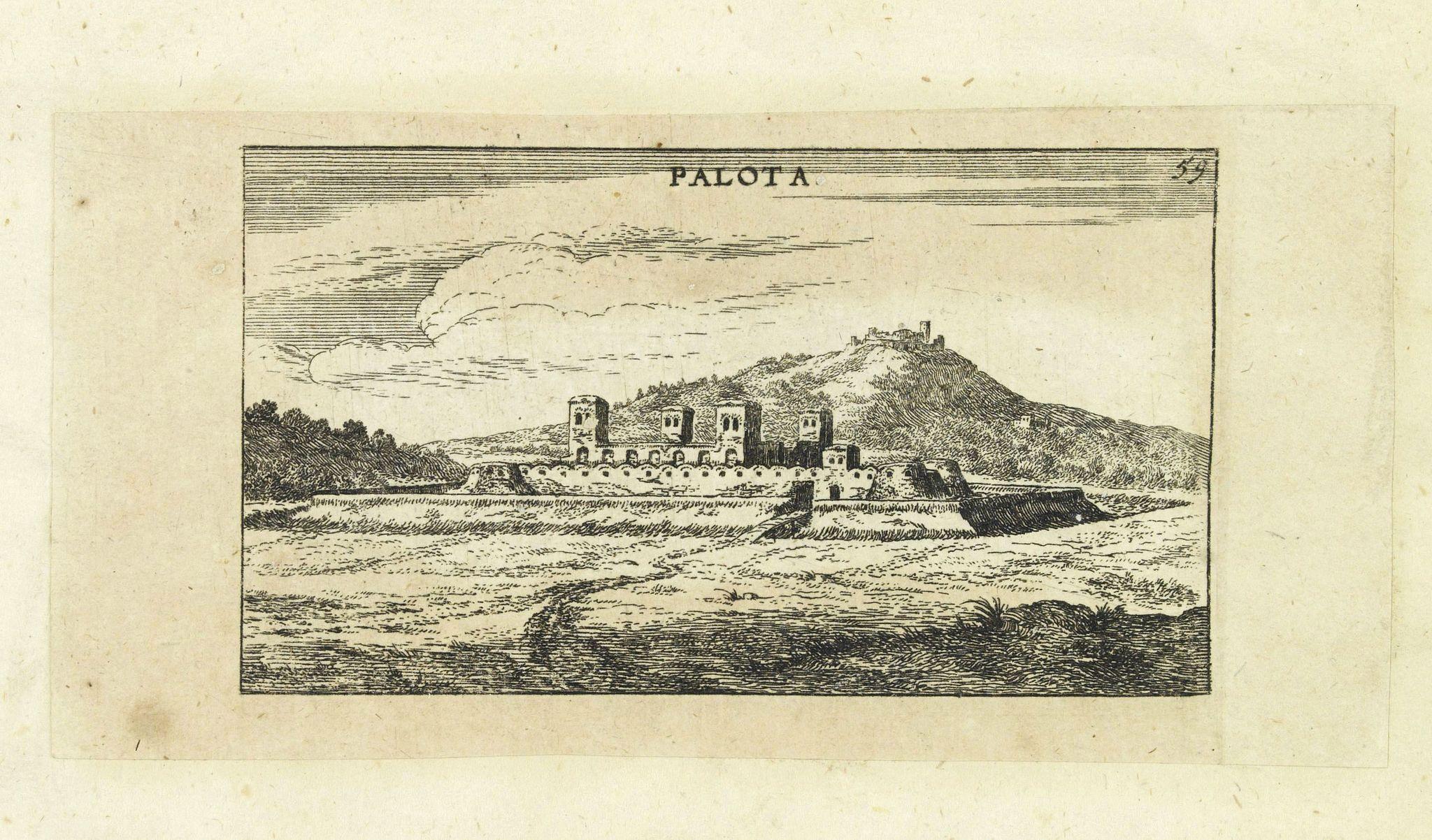 VON BIRKEN, S. -  Palota.