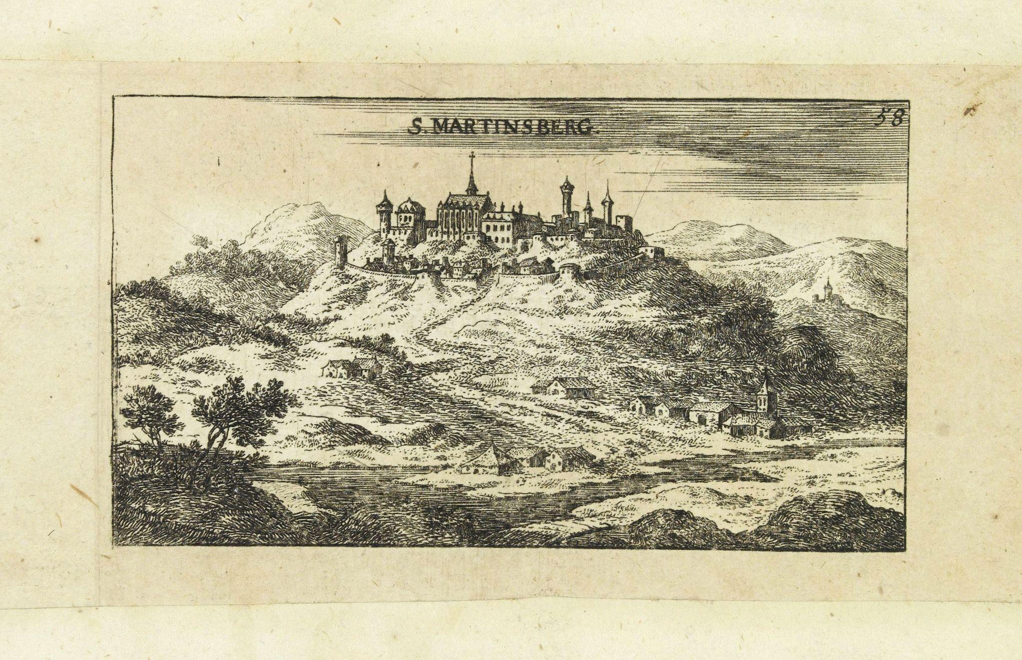 VON BIRKEN, S. -  S. Martinsberg.