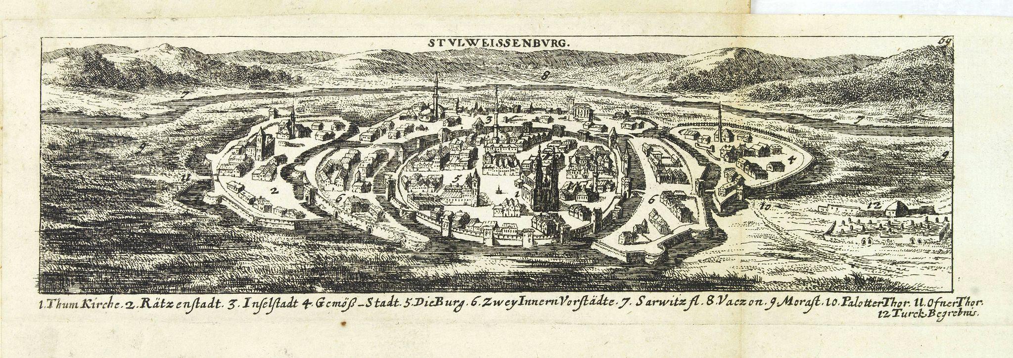 VON BIRKEN, S. -  Stulweissenburg. (Székesfehérvár)