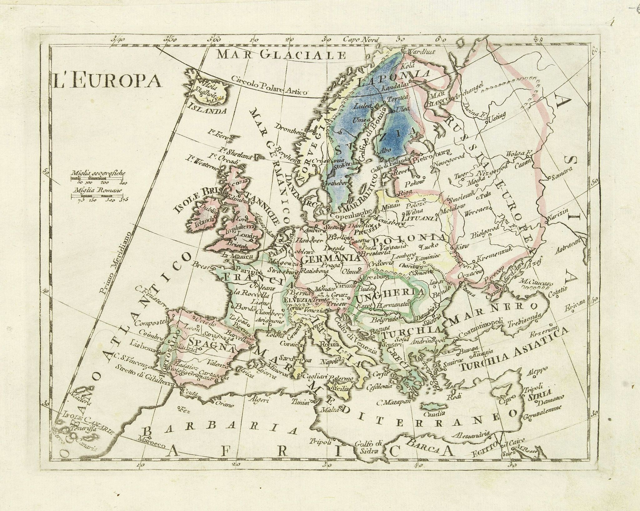 OLIVIERI -  L'Europa.