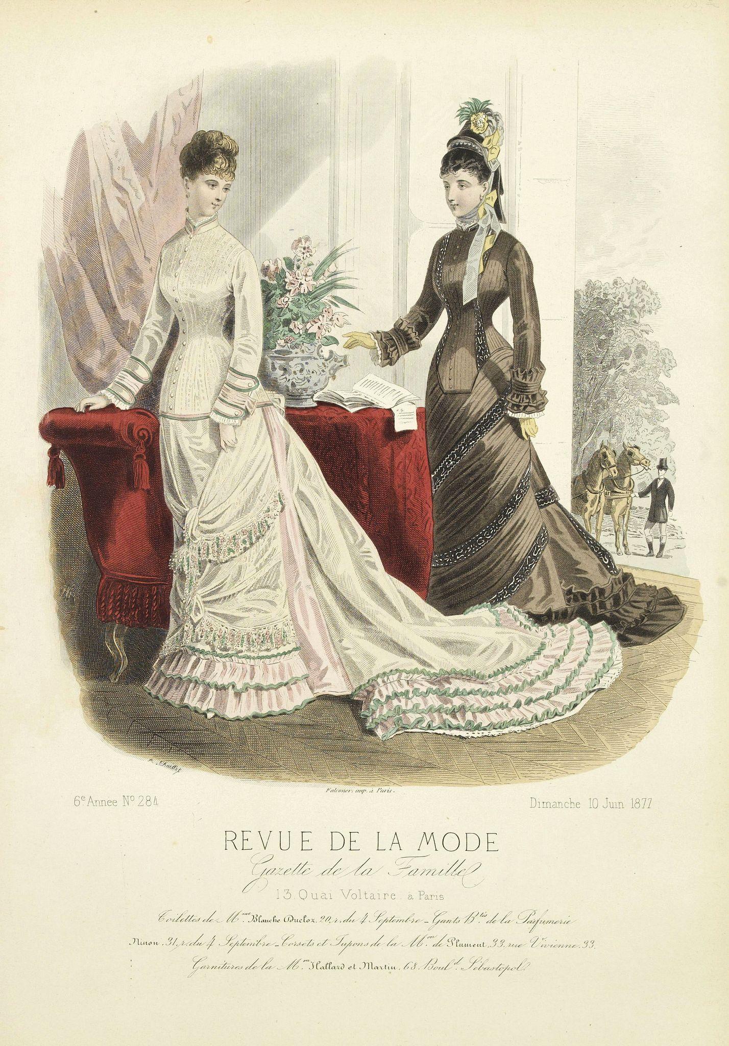 REVUE DE LA MODE -  Paris fashion plate. (284)