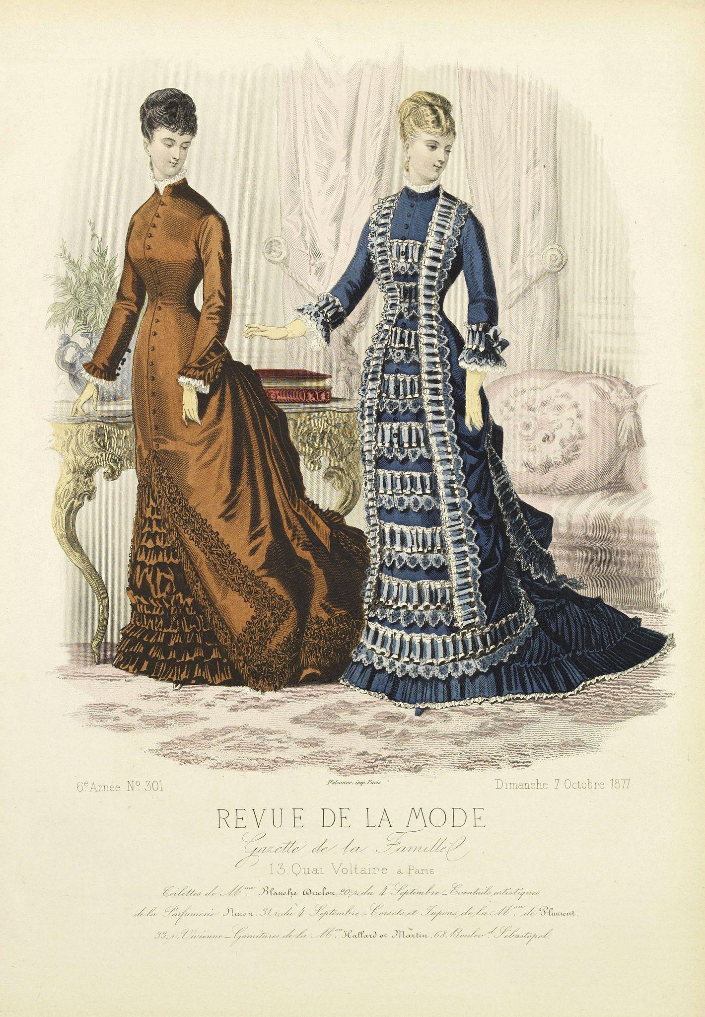REVUE DE LA MODE -  Paris fashion plate. (301)
