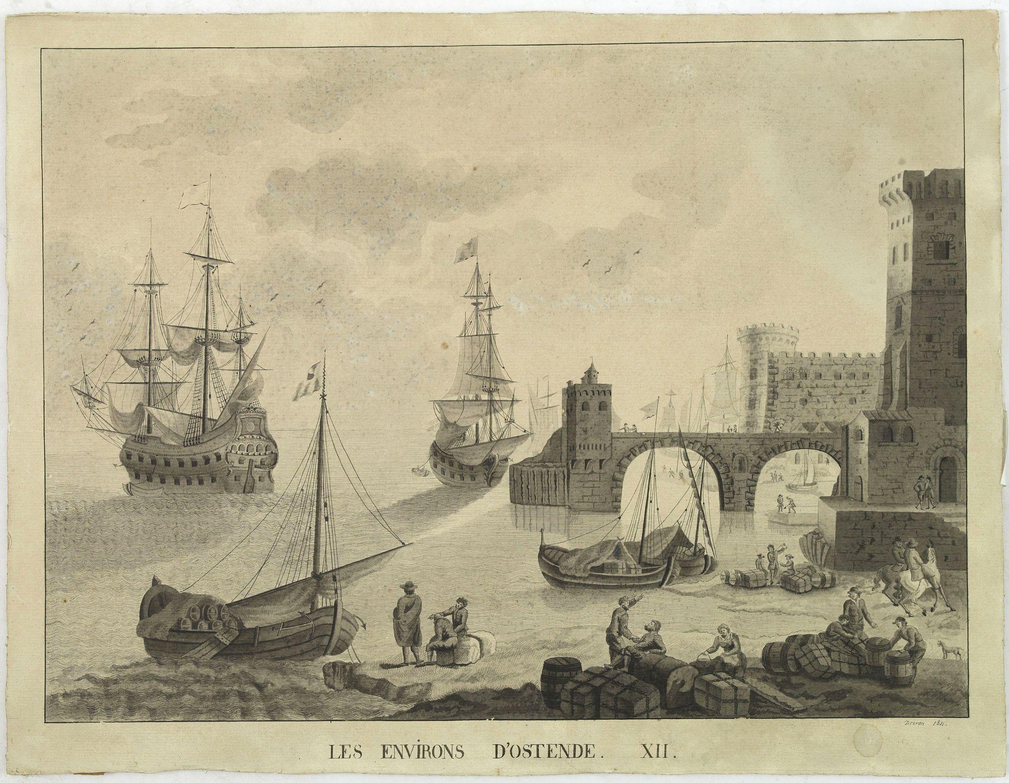 DREVON -  Les environs d'Ostende. XII.