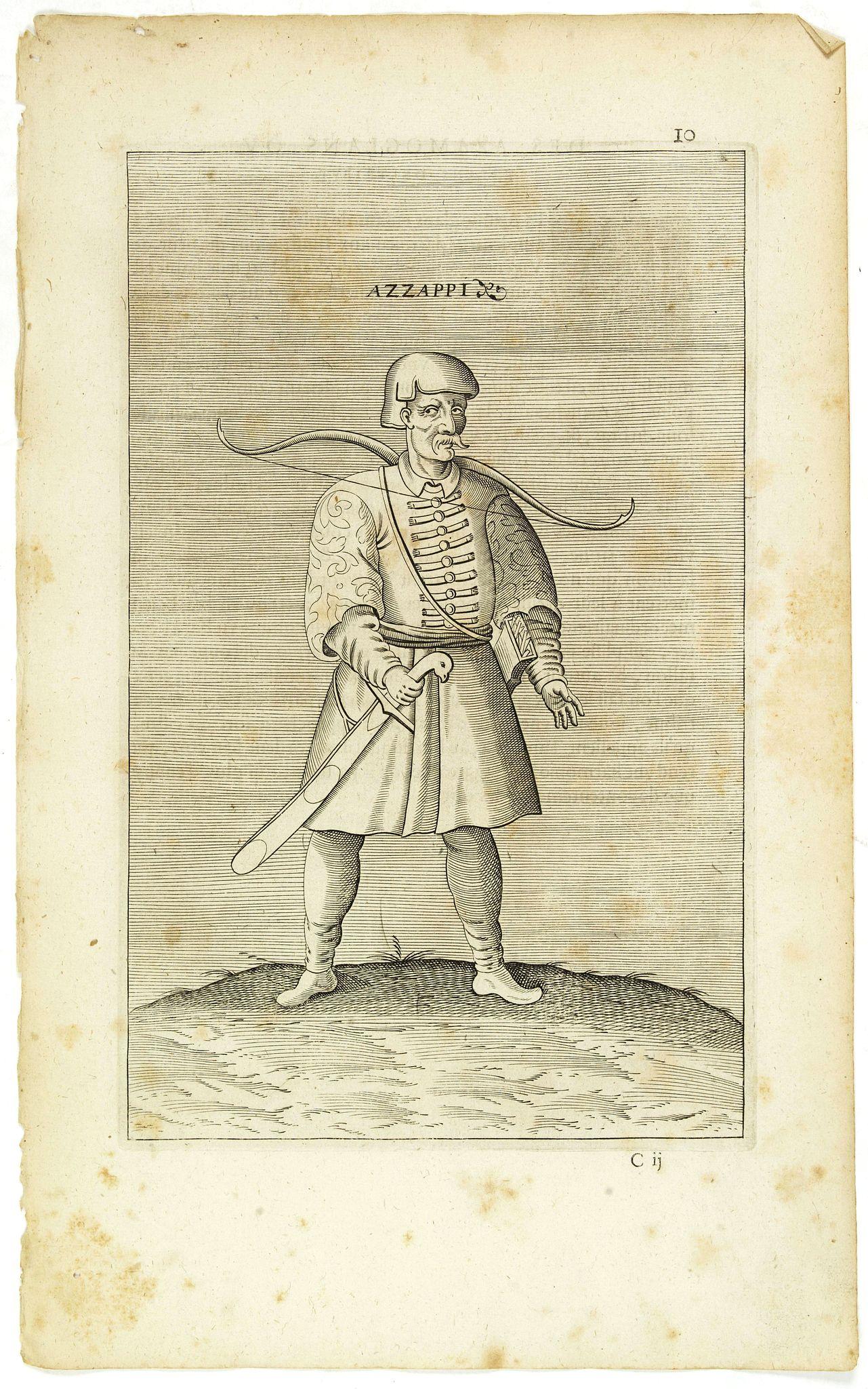 NICOLAS DE NICOLAY, Thomas Artus (sieur d'Embry). -  Azzappi. (10)