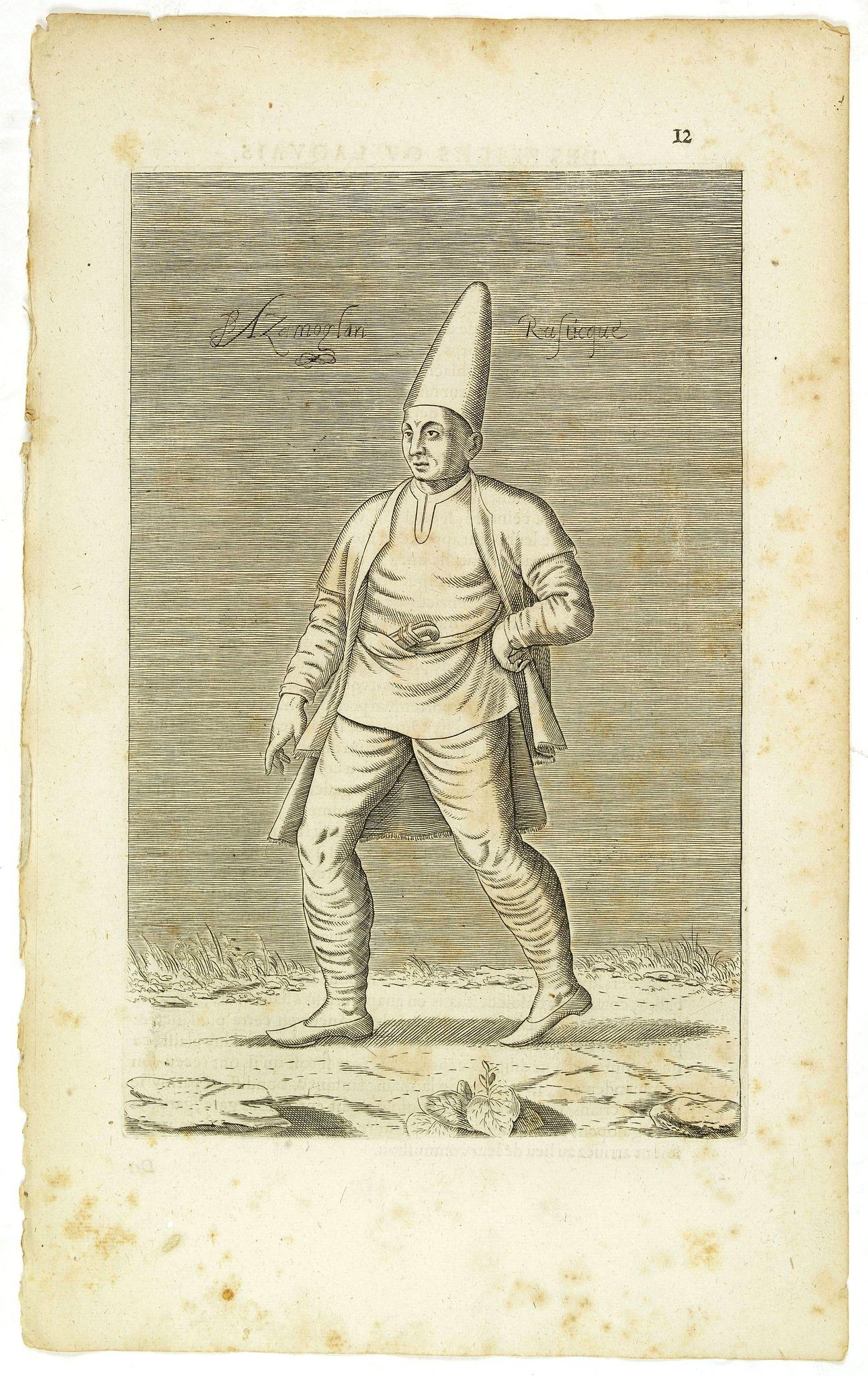 NICOLAS DE NICOLAY, Thomas Artus (sieur d'Embry). -  Azamoglan Rustique .(12)