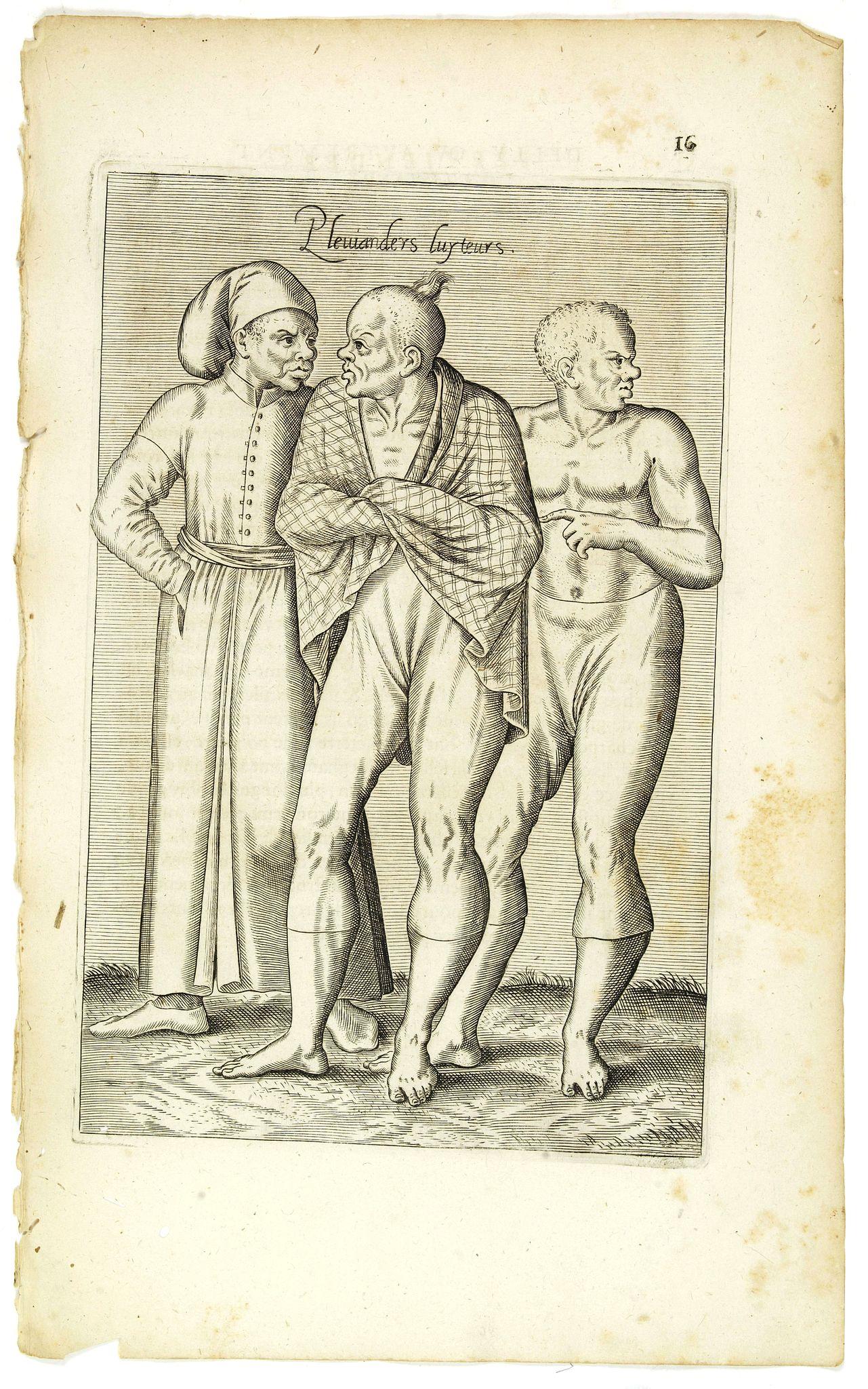 NICOLAS DE NICOLAY, Thomas Artus (sieur d'Embry). -  Pleuianders Luyteurs. (16)