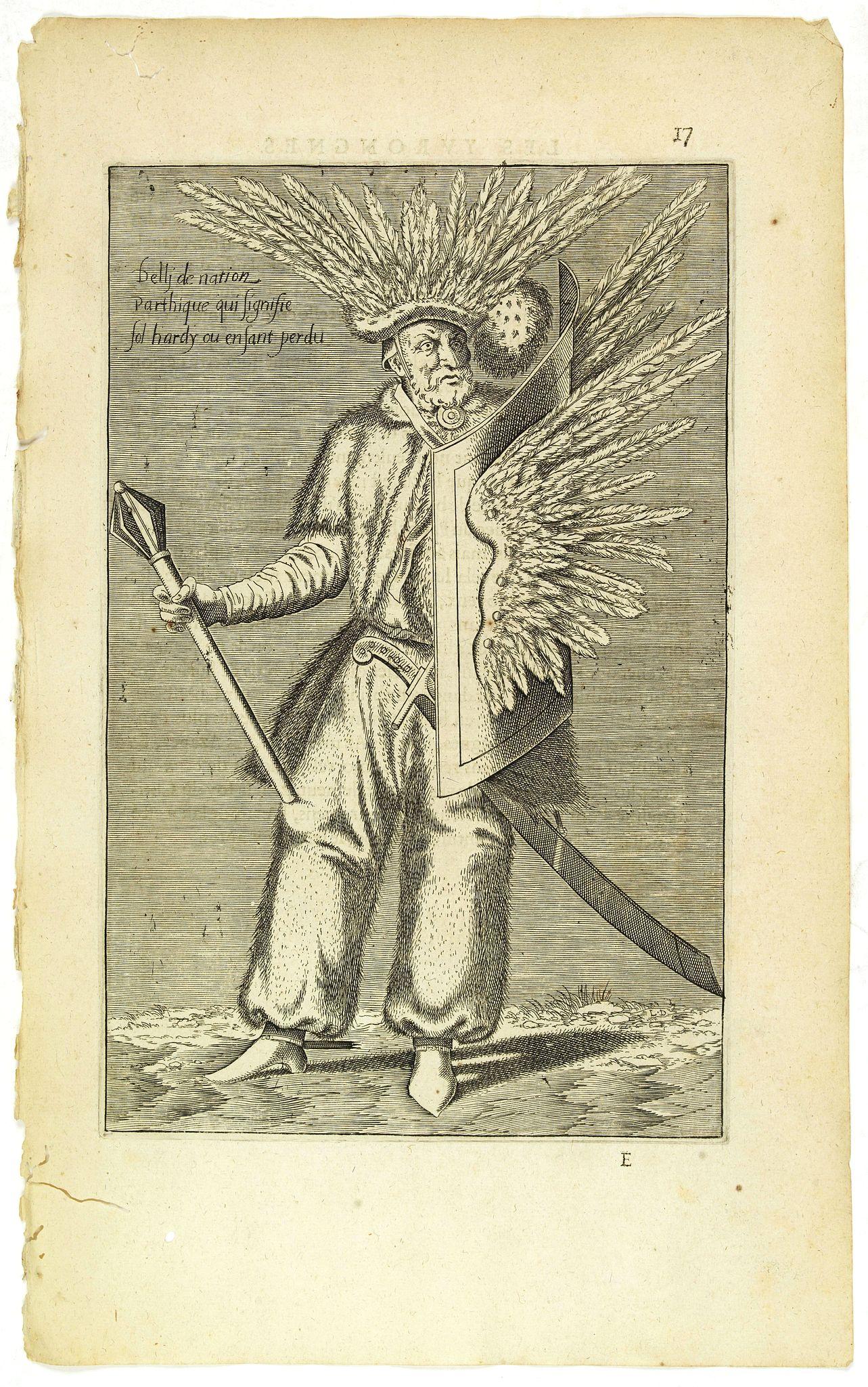 NICOLAS DE NICOLAY, Thomas Artus (sieur d'Embry). -  Delli de nation Parthique qui signifie Sol Harfy ou Enfant Perdu. (17)