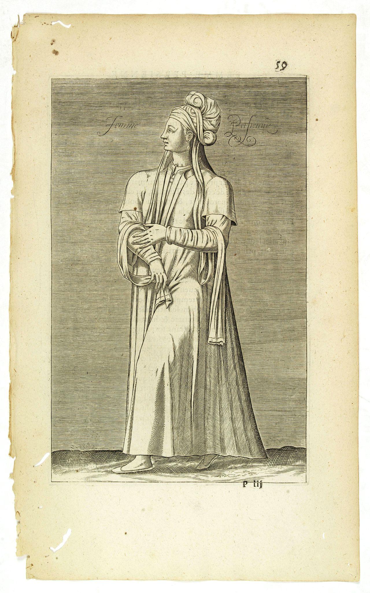 NICOLAS DE NICOLAY, Thomas Artus (sieur d'Embry). -  Femme Persienne. (59)