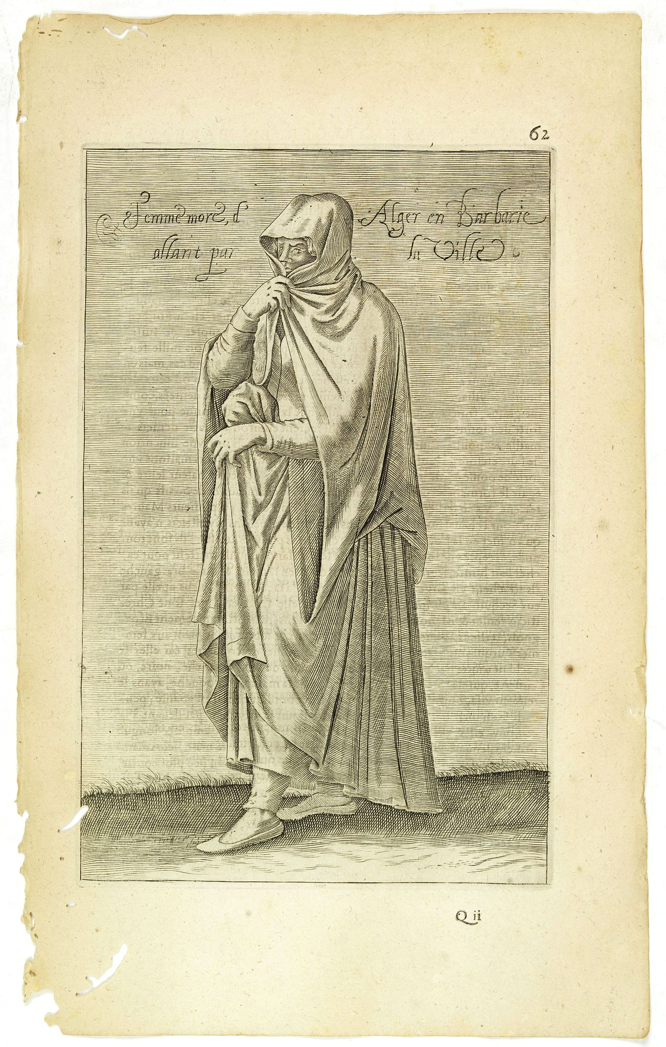 NICOLAS DE NICOLAY, Thomas Artus (sieur d'Embry). -  Femme More d