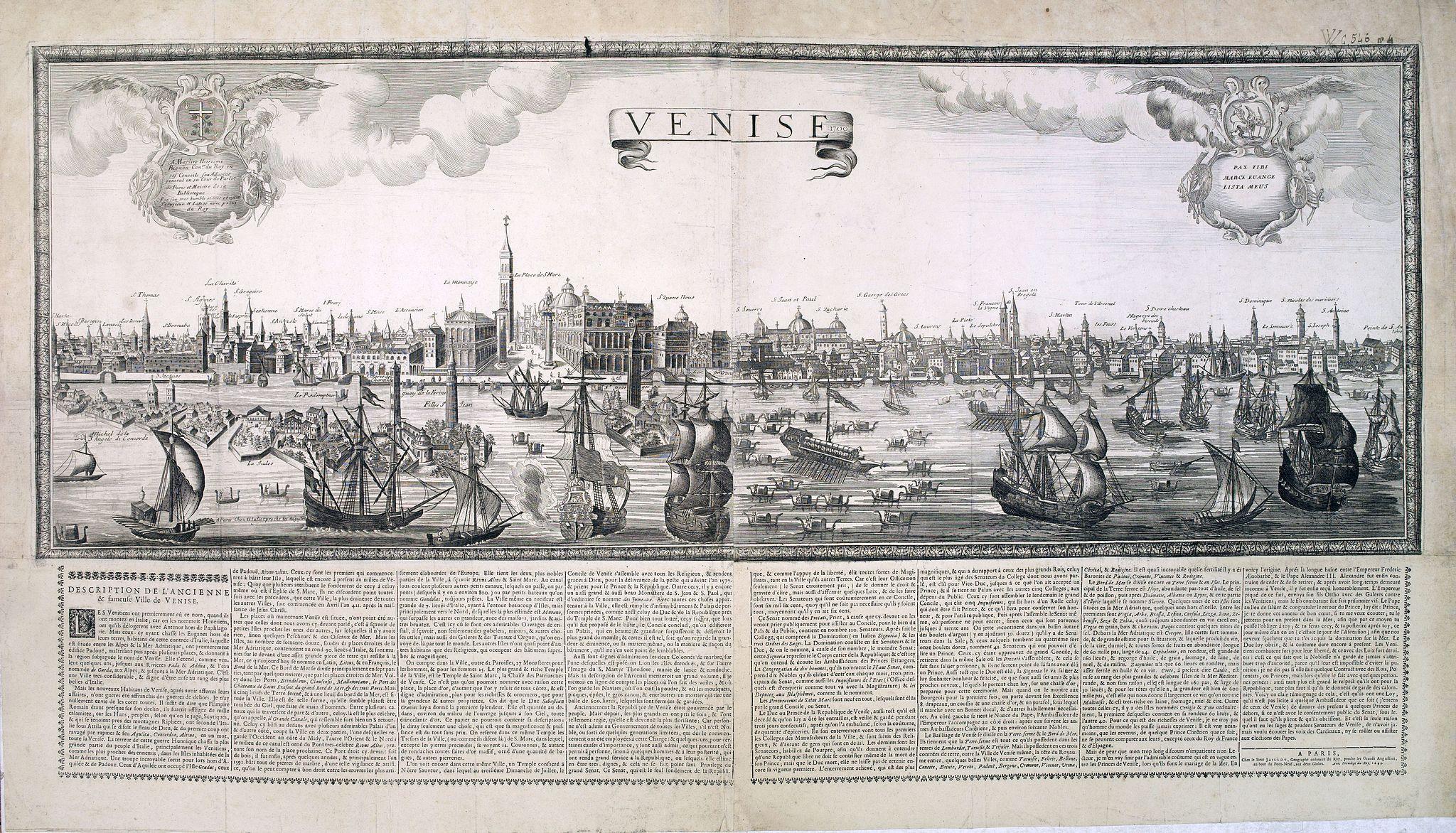 JAILLOT, H. -  Venise. 1700