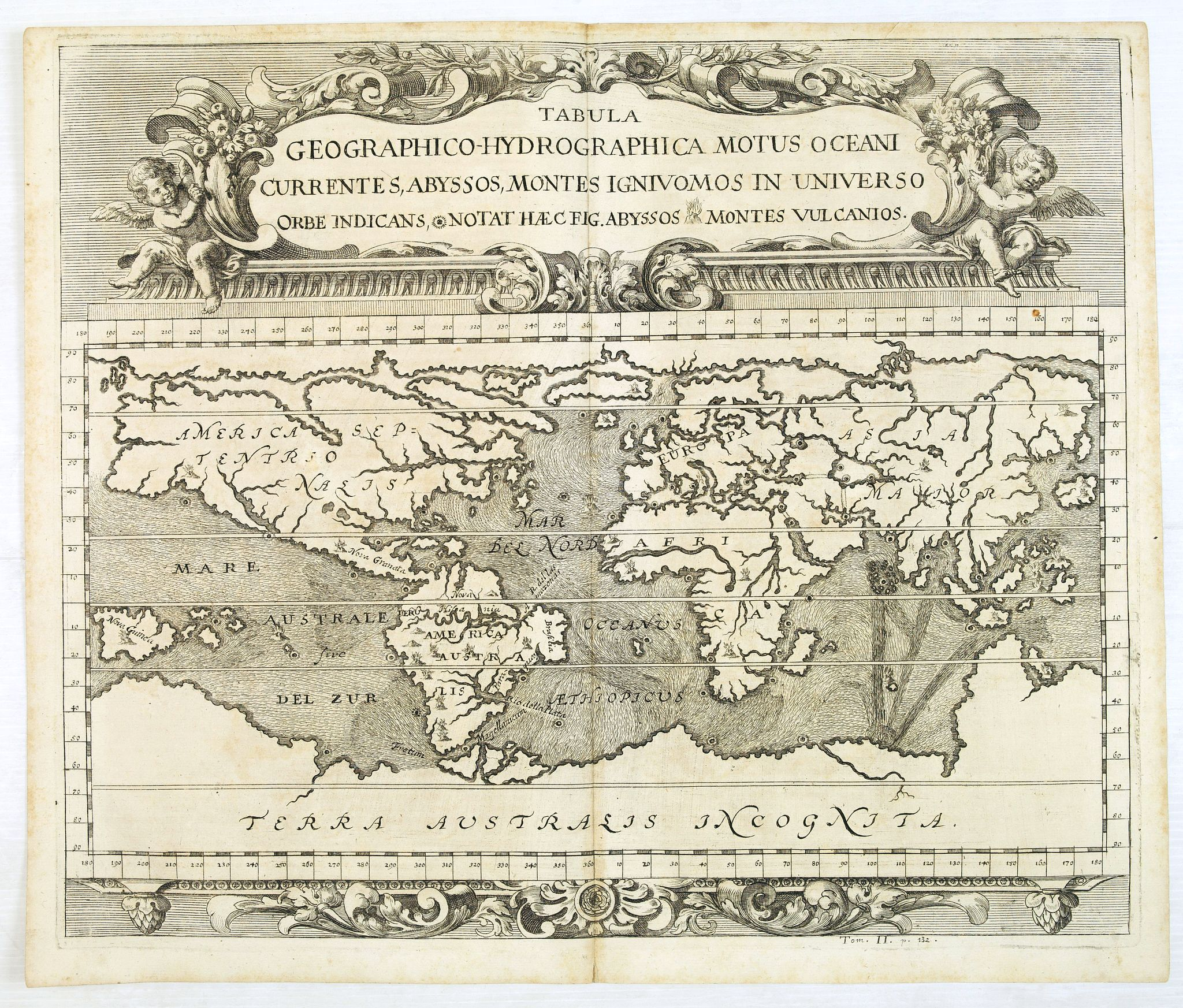 ZAHN, J. -  Tabula geographico-hydrographica motus Tom II p.132.