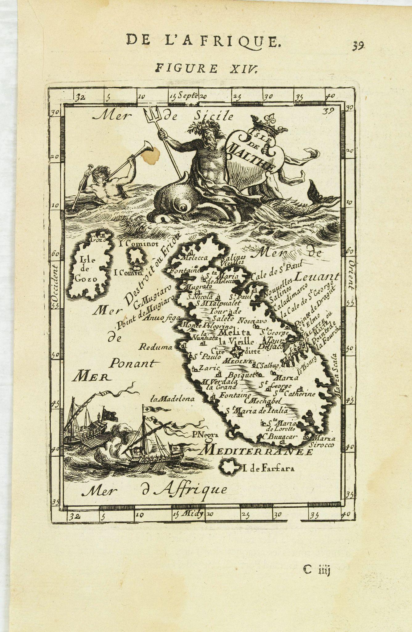 MALLET, A.M. -  Isle de Malthe.
