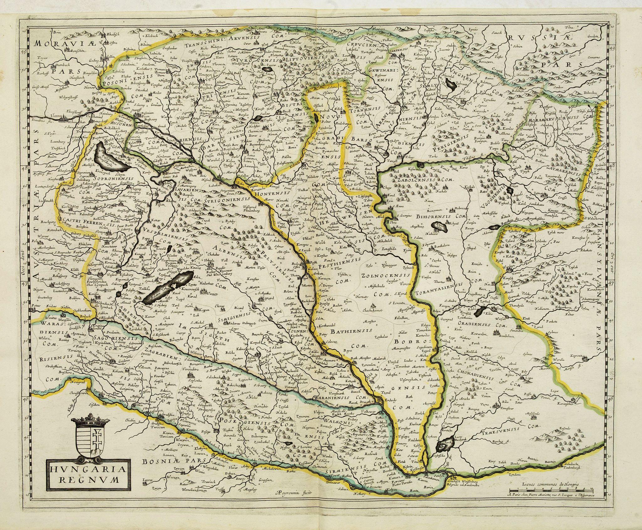 MARIETTE, P. -  Hungaria regnum.