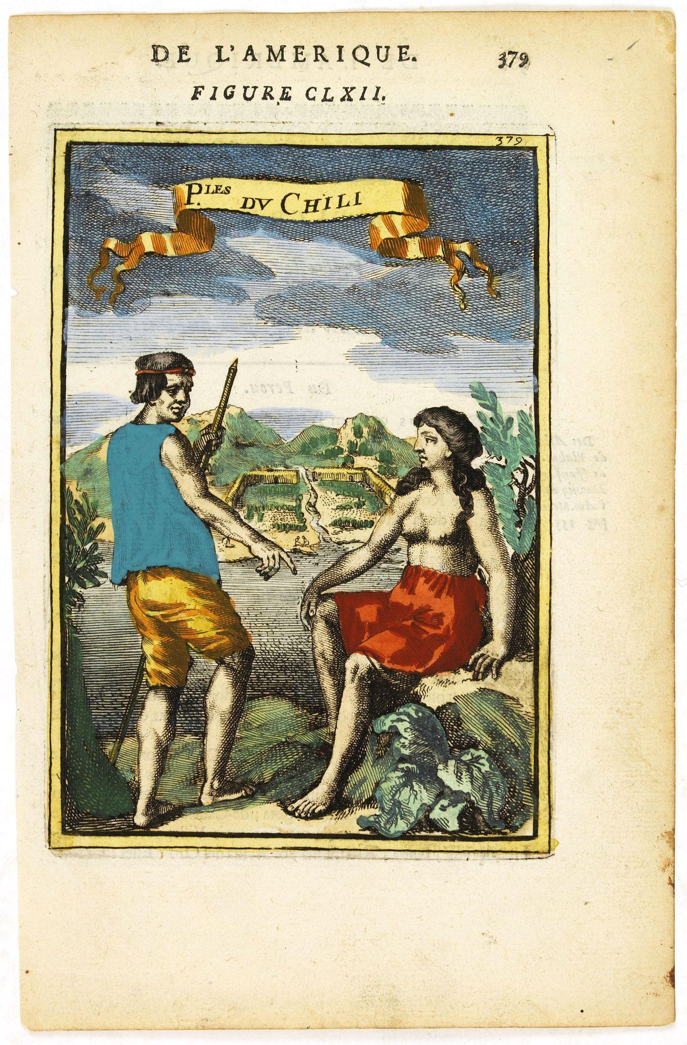 MALLET, A.M. -  P.les du Chile.