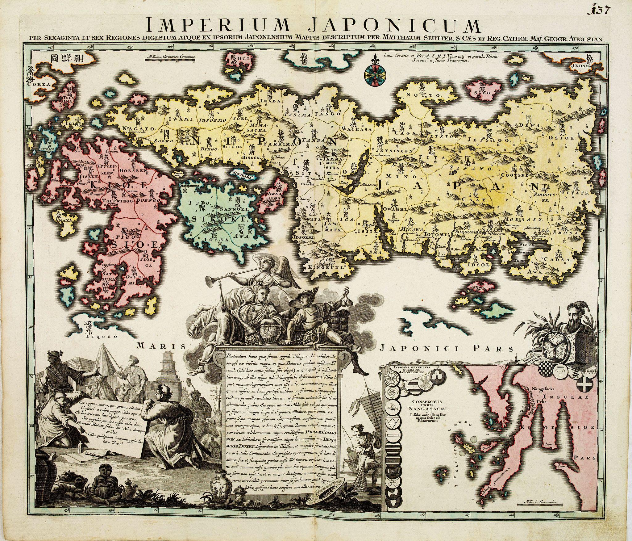 SEUTTER, M. -  Imperium Japonicum.