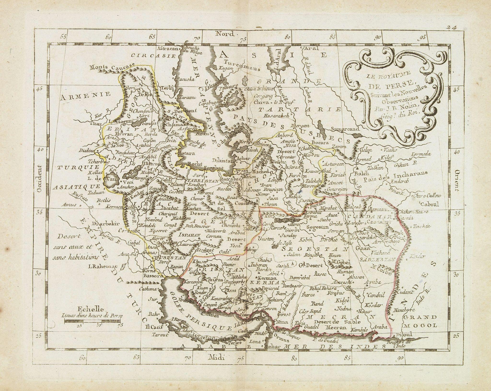 MONDHARE, L.J. / NOLIN, J.B. -  Le royaume de Perse. . .